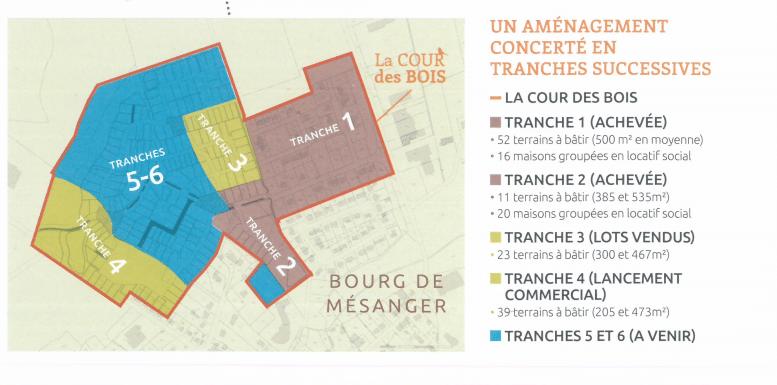 ZAC Cours des Bois, Mairie de Mésanger