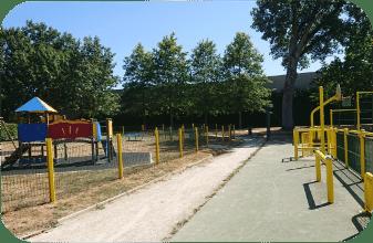 Aire de jeux, Mairie de Mésanger