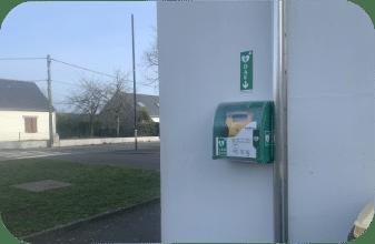 Défibrillateurs, Mairie de Mésanger