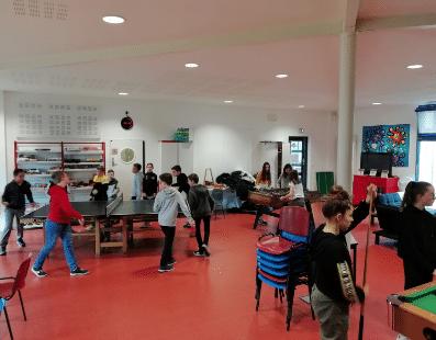 Foyer des Jeunes, Mairie de Mésanger