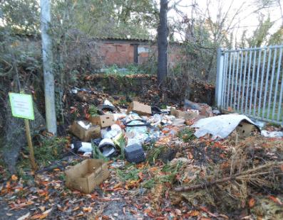 Incivilités, Mairie de Mésanger