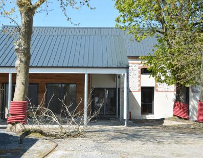Travaux Maison des associations, Mairie de Mésanger