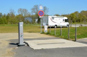 Aire de camping-car, Mairie de Mésanger
