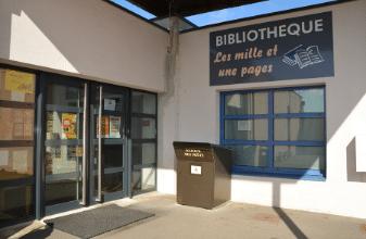 Bibliothèque, Mairie de Mésanger
