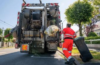 Gestion des déchets, Mairie de Mésanger