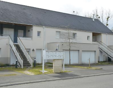 Logements sociaux, Mairie de Mésanger