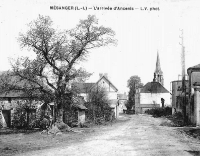 Présentation de la Commune, Mairie de Mésanger