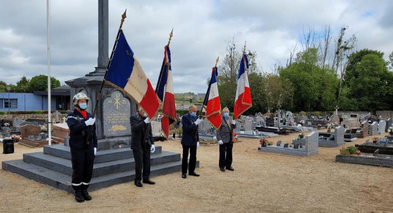 Cérémonie du 8 mai, Mairie de Mésanger