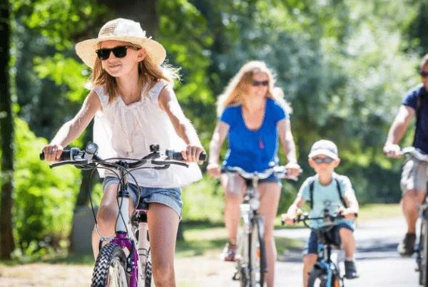 Randonnées à vélo, Mairie de Mésanger