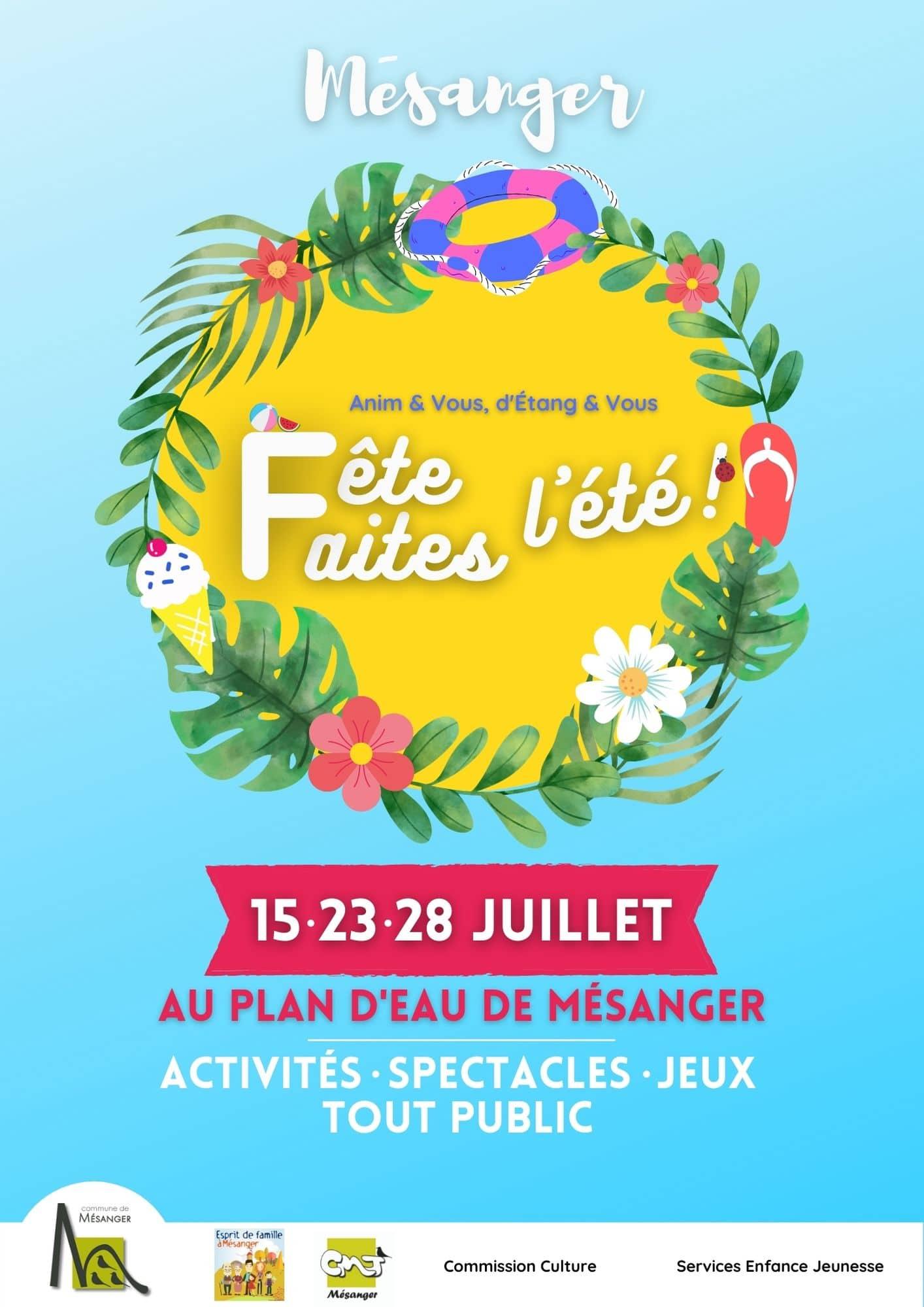 Faites-Fête l'Été !, Mairie de Mésanger