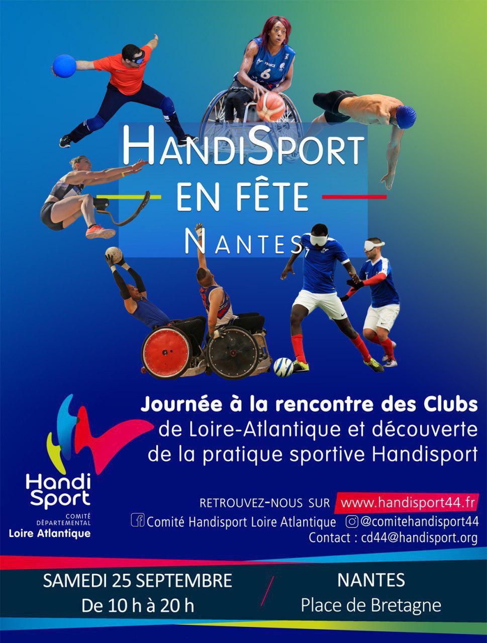 Évenement Handisport, Mairie de Mésanger